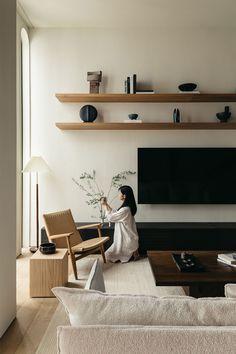 Living Room Interior, Home Living Room, Living Room Decor, Living Spaces, Home Room Design, Home Interior Design, House Design, Decoration Inspiration, Interior Inspiration