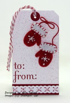 The Pals Winter Blog Hop - The Stampin' Schach
