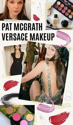 Recreating the Pat McGrath Versace makeup look from the FW21 fashion show in Milan #makeuplooks #springmakeup #makeuptutorial #beautytips Beauty Hacks You Need To Know, Eyes Lips Face, Spring Makeup, Pat Mcgrath, Women Lifestyle, Model Photographers, Makeup Trends, My Hair, Versace