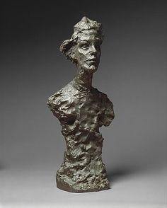 Alberto Giacometti: Annette, VI-Bronze-1962