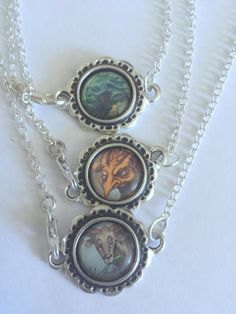 Magic the Gathering Charm Chain Necklace, MTG by Domruff1 on Etsy