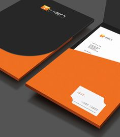 Then Corporate  Brand Identity by JIMMI TUAN, via Behance