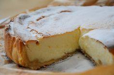 torta cremosa mais miele e ricotta