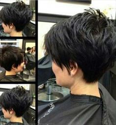 Pixie Hairstyles Back View