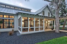 Modern Farmhouse - Tim Brown Architecture
