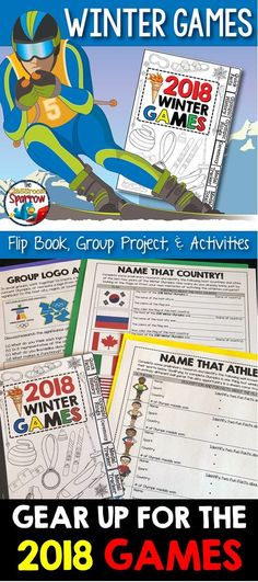 Bring the fun of the 2018 WINTER OLYMPICS to your class this year! This Winter Games BUNDLE includes a variety of differentiated resources that could be used before, during and after the broadcast in PyeongChang, South Korea.