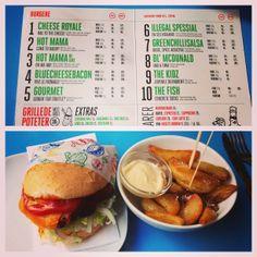 Best burgers in Oslo. Hands down! Oslo, Good Burger, Spicy, Avocado, Meals, Burgers, Norway, Hot, Gourmet