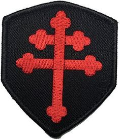 "The Jerusalem cross, also known as Crusaders' cross or the ""Five-fold Cross"", is a heraldic cross or Christian symbol consisting of a large cross potent surrounded by four smaller plain crosses, one i"