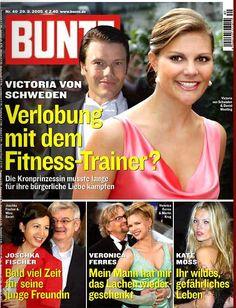 2005: Victoria von Schweden und Daniel Westling