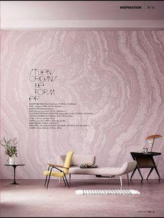 Interior Design Styling Magazine Pink Minimalist Scandinavian Rum