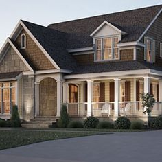 Top 12 Best-Selling House Plans: #6 Stone Creek, Plan #1746