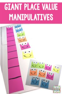 Place Value: Giant Tens And Ones | Introduce base ten and place value with these fun giant tens and ones!