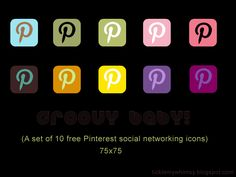 free social networking icons; like these styles