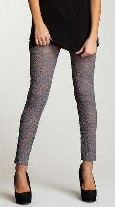 Lace leggings!