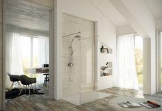 CALFLEX SRL - COLONNE SEMPLICI ED ELEGANTI ADATTE A TUTTI GLI AMBIENTI Inspiration Boards, Oversized Mirror, Shower, Space, Furniture, Home Decor, Environment, Rain Shower Heads, Floor Space