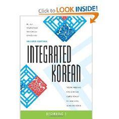 Korea language learning book