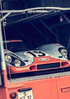 porsche 917 transporter . .