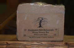 Hemp Oil Beauty Bar by hurricanehill. Explore more products on http://hurricanehill.etsy.com