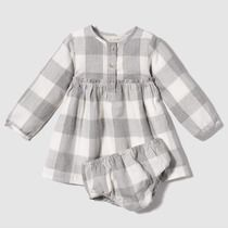 Vestido de bebé Unit Cuadros