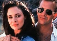 Madeleine Stowe and Kevin Costner
