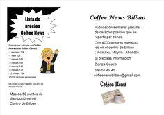 Precios Coffee News Bilbao