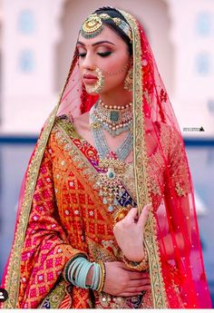 Wedding Makeover, Bridal Dupatta, Bridal Nose Ring, Bridal Lehenga Collection, Bridal Poses, Indian Bridal Makeup, Dress Indian Style, Indian Wedding Outfits, India Fashion