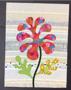 Flower Garden, Kim McLean - Block 6 (Laila Nelson)