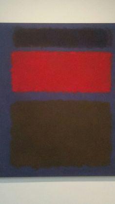 Mark Rothko, Untitled 1960 at The Toledo Musuem of Art.