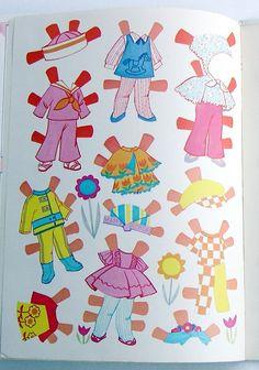 Vintage Whitman Mattel Playhouse Liddle Kiddles Paper Dolls 1971 Uncut Unused | eBay