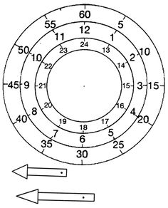 zegar Number Writing Practice, Writing Numbers, Math Worksheets, Math Activities, Tell The Time Clock, Learning Clock, Paper Clock, Math Design, Math Websites