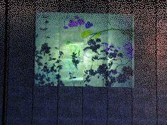 GAUDENZI EXTERIORS @ Elastomer frame with a special insert in perforated metal sheet | Studio ASA | Milan