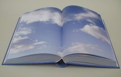 Cloud Book Study, 2011. 6 x 9 x 2 in., 752-page hardbound digital-offset printed book and 50-second video. The book and video are intended to be viewed together. Edition of 3.
