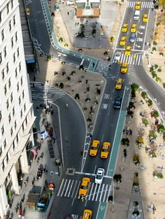 View from the Flatiron Building, Manhattan