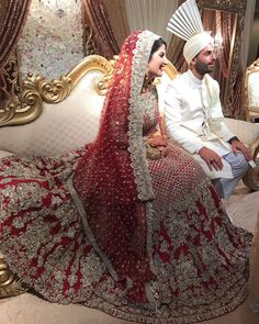 """403 Likes, 51 Comments - Ayesha Babar (@eyeshababz) on Instagram: """"number one advice for future brides is to notttt wear a heavy dupatta! Your head, body, and…"""""""