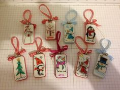 2012 Domino Ornaments by HappiLeaStamppin - Cards and Paper Crafts at Splitcoaststampers