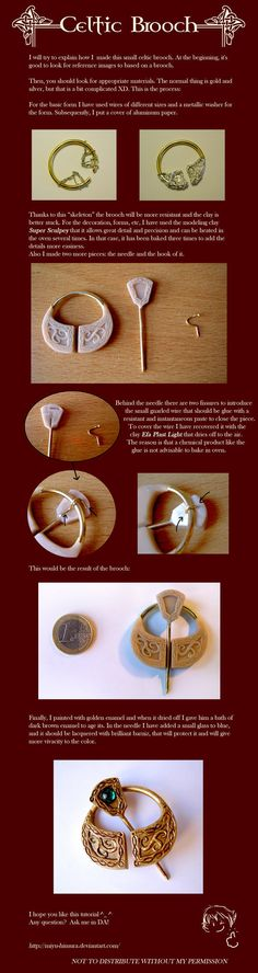 Well, this is the tutorial of my celt brooch in English ^^. I apologize for my bad English This is my first tutorial (try to be not very hard with me xD )... it can be useful to make any figure typ...