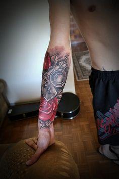 Ton Müller, RS, Brasil. #tattoos #tattoo #bodyart