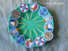 Nautical Theme/ Baby Shower/ Baby Boy Cupcake by 2 Love n Happiness