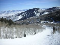 Skied The Canyons in Park City Utah... hope to make it back there someday soon!