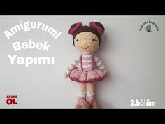 I've added a new one to my amigurumi works, which I have been on a break for a. Crochet Doll Pattern, Crochet Art, Crochet Dolls, Doll Patterns, Knitting Patterns, Crochet Patterns, Amigurumi For Beginners, How To Start Knitting, Amigurumi Toys