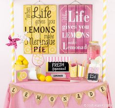 When life gives you lemons, you know what to do!