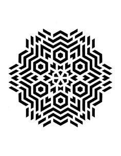 Geometric Mandala, Geometric Designs, Geometric Shapes, Tatoo Designs, Stencil Designs, Mandala Tattoo, Mandala Art, Op Art, Geometry Tattoo