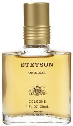Stetson Cologne by Stetson, 1 Fluid Ounce Experience the true original. The legendary fragrance of the American west. A rich, masculine blend of rugged Cologne Spray, Vintage Bottles, Male Beauty, Perfume Bottles, The Originals, Gifts, Fragrances, Woods