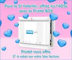 PrixTel Box ADSL : code promo de 5 euros à valoir sur la première facture | Maxi Bons Plans