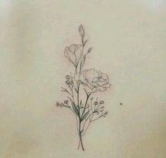 back tattoo, flower, and minimal afbeelding