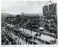 Salt Lake City's trolley line