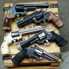 Revolvers...