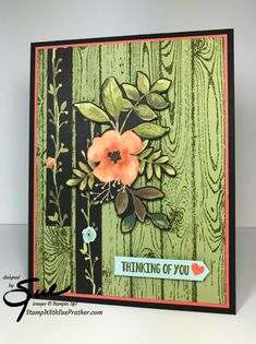 Detail: Cut out some of planks Stamp With Sue Prather | Independent Stampin' Up! Demonstrator, Snellville, GA
