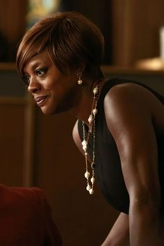 Viola Davis, star of 'How to Get Away With Murder'. She's a fine, under-utilized film and TV actress. After reading critics' recaps of a couple of subplots, this is one of those shows that's just too lurid for me to watch. Can the network just air her scenes? This is an Emmy-worthy one: http://www.washingtonpost.com/blogs/style-blog/wp/2014/10/17/bare-face-bare-emotions-no-words-required/