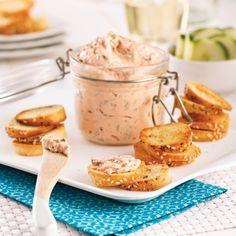 Chips de bagel et tartinade au saumon fumé - Recettes - Cuisine et nutrition - Pratico Pratiques